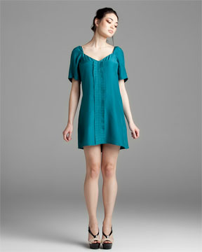 frock! Tracy Reese Krissy Lagoon Silk Dress