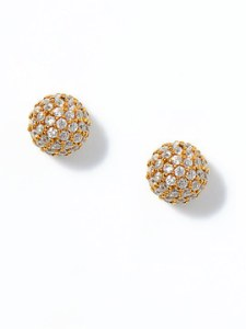 Azaara Crystal Ball Stud Earrings