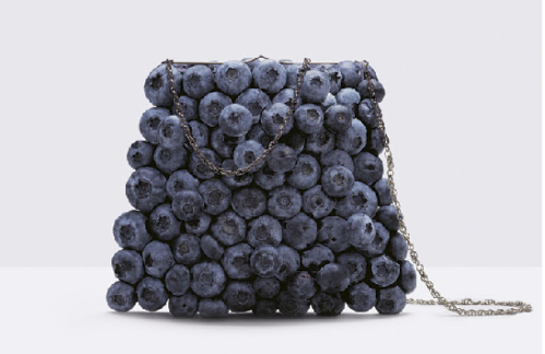 Fulvio Bonavia blueberry purse