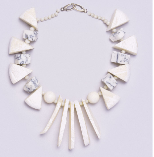 Fulvio Bonavia cheese necklace