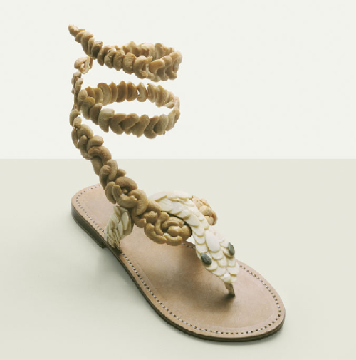 Fulvio Bonavia food sandals