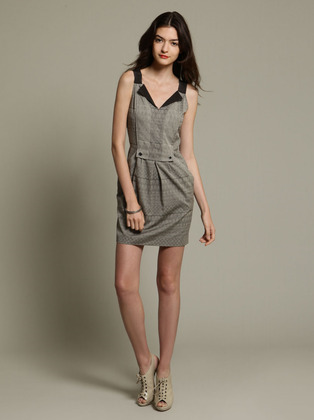 Woven Cotton Tripoli Dress