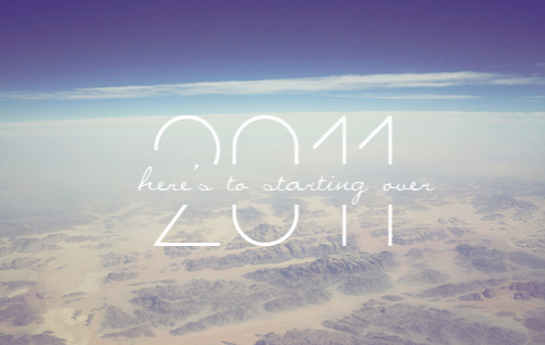 starting over 2011 image