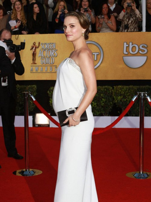 Natalie Portman SAG Dress