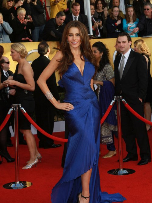 Sofia Vergara SAG Dress