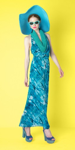 Alice + Olivia Resort 2010, Tie-Dye Maxi