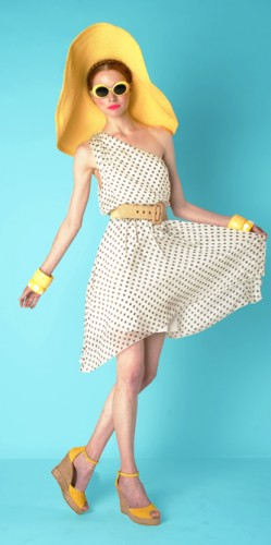 Alice + Olivia Resort 2012, Polka Dots